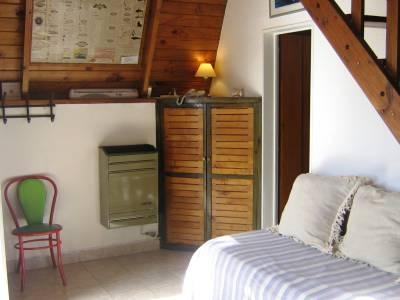 Estufa en cabaña 1